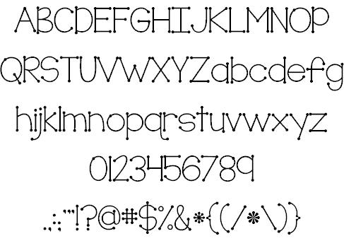 Download KG True Colors font (typeface)