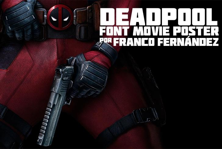 Download Deadpool Movie font (typeface)