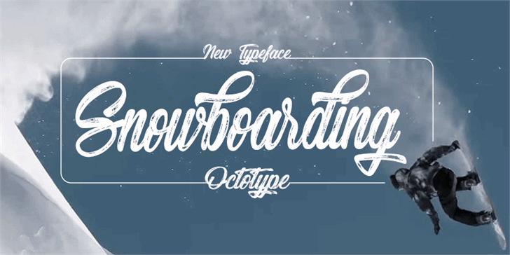 Download Snowboarding font (typeface)