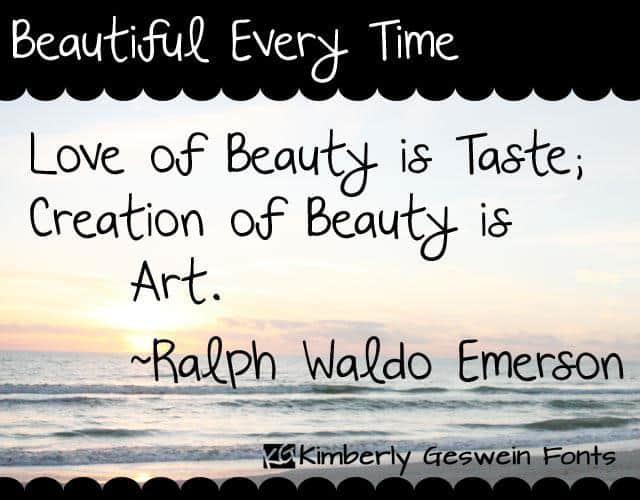 Download Beautiful Every Time font (typeface)