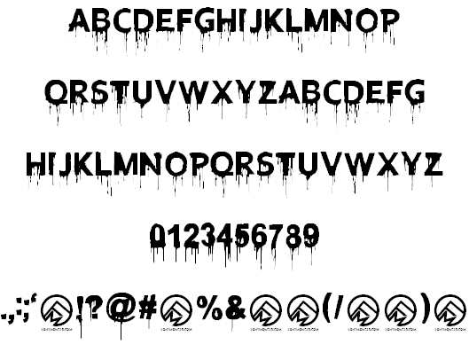 Download Blood Lust font (typeface)