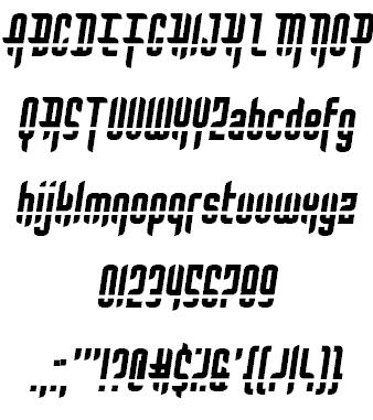 Download Bullet Rain font (typeface)