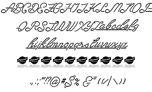 Download Las Enter font (typeface)