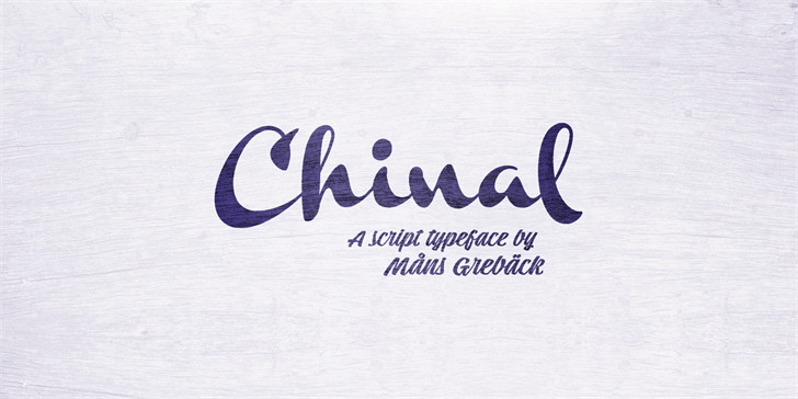 Download Chinal Bold font (typeface)