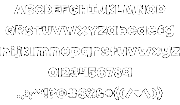 Download KG The Last Time font (typeface)