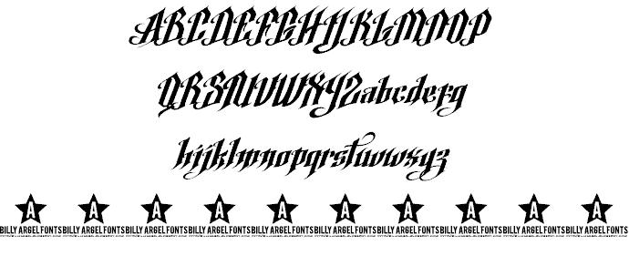 Download Argel font (typeface)