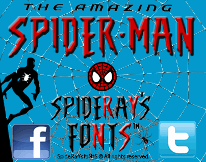 Download THE AMAZING SPIDER-MAN font (typeface)