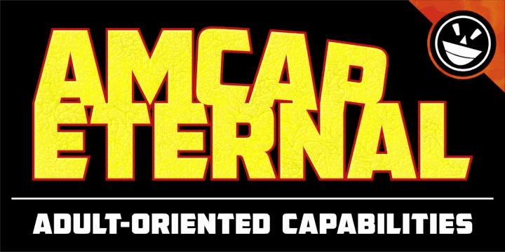 Download AMCAP Eternal font (typeface)