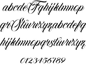 Download Familia Script font (typeface)
