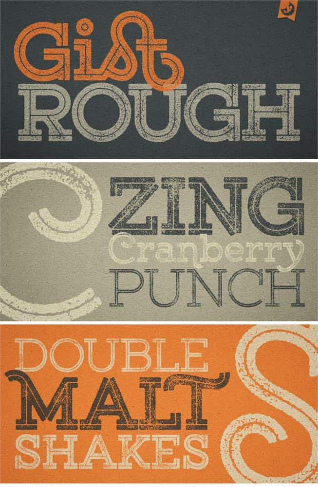 Download Gist Rough Upr Exbold Two font (typeface)