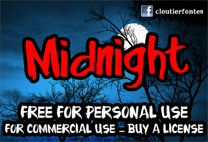 Download Midnight font (typeface)