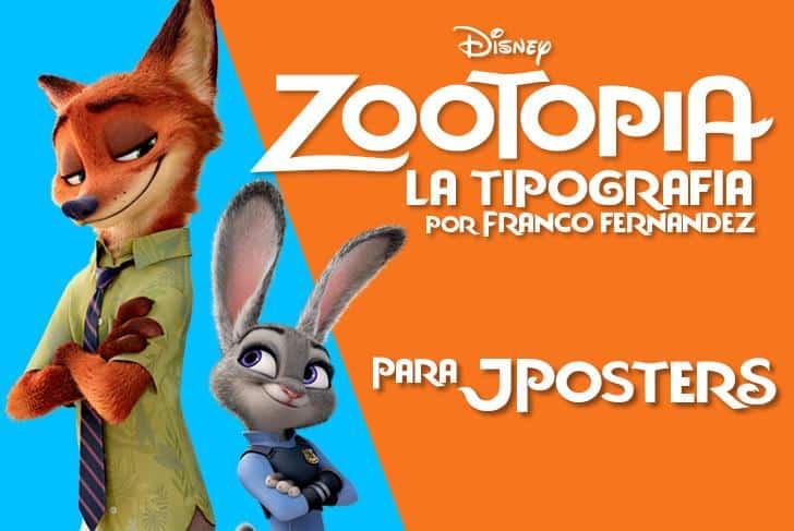 Download Zootopia JPosters.com.ar font (typeface)