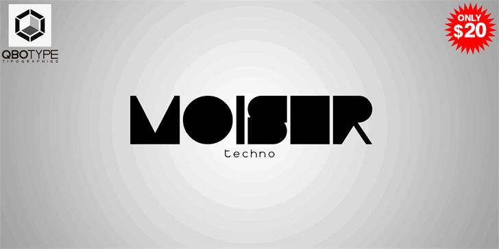 Download Moiser font (typeface)