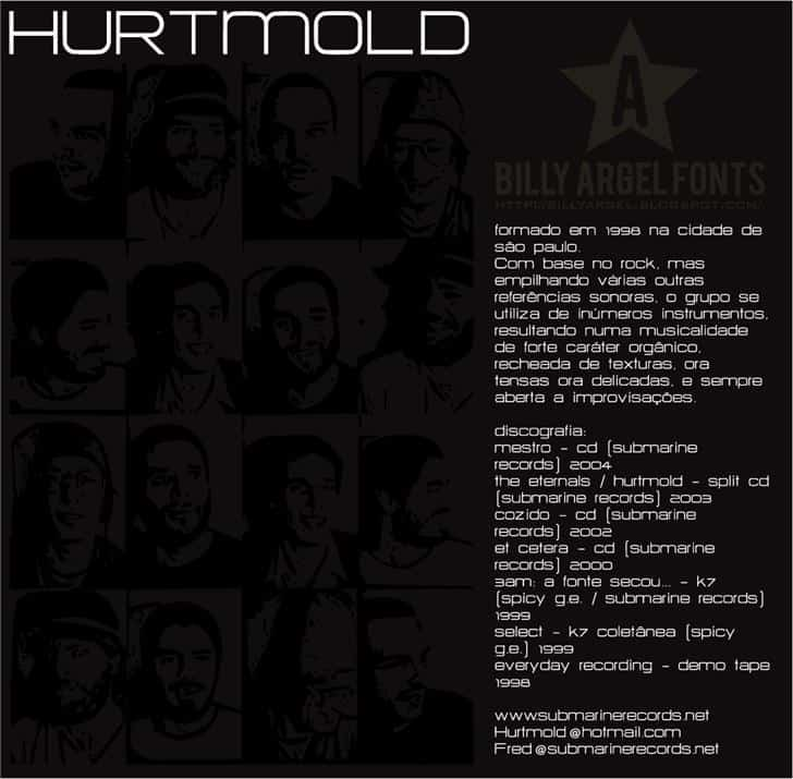 Download HURTMOLD font (typeface)