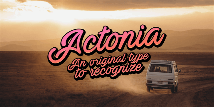 Download Actonia Hand font (typeface)