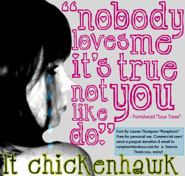 Download LT Chickenhawk font (typeface)