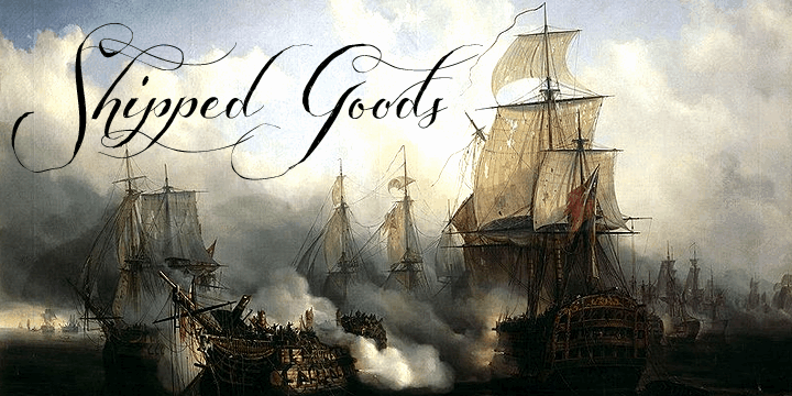 Download Shipped Goods font (typeface)