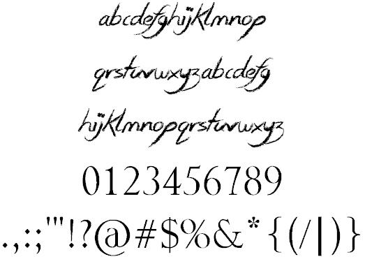 Download Smudgie Crayon font (typeface)