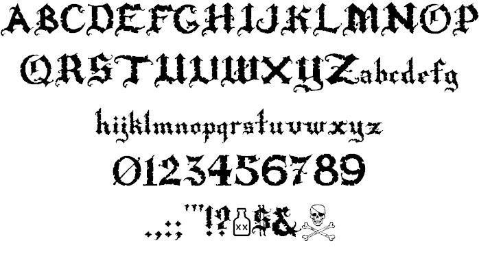 Download Rapscallion font (typeface)