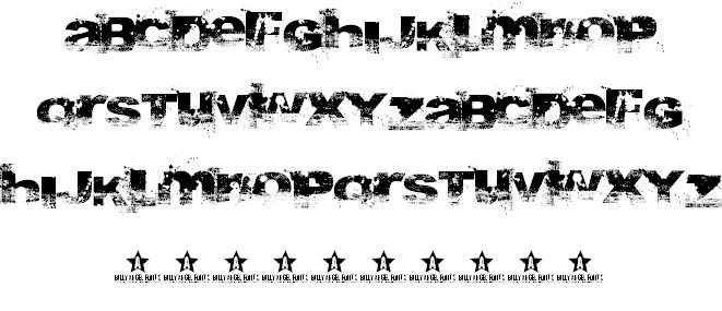 Download A bite font font (typeface)