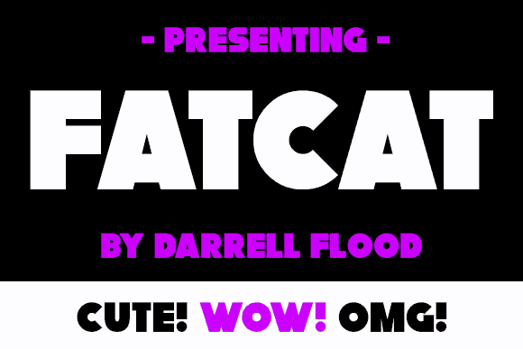 Download Fatcat font (typeface)