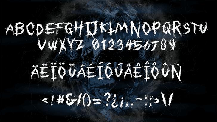 Download Dreams of Death font (typeface)
