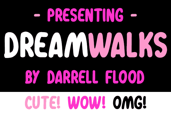 Download Dreamwalks font (typeface)