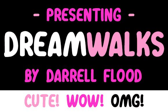 Download Dreamwalks font (typeface)