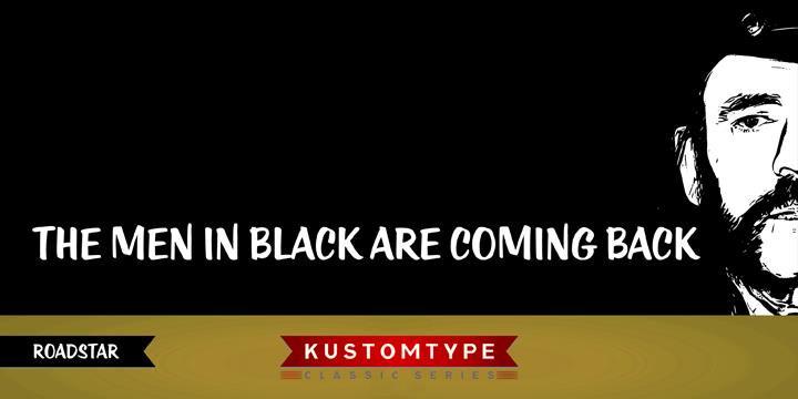 Download KTF-Roadstar font (typeface)