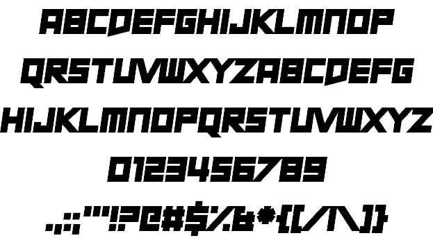 Download Short Xurkit font (typeface)
