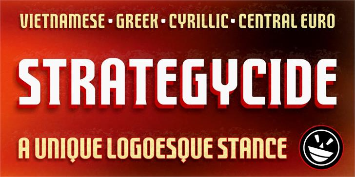 Download FTY STRATEGYCIDE NCV font (typeface)