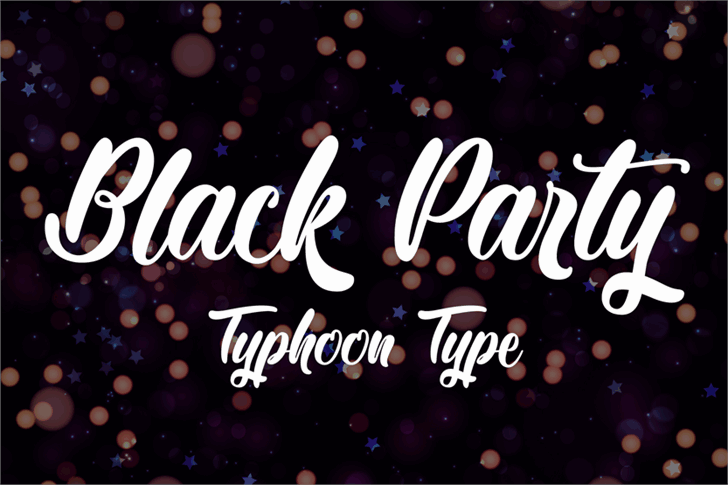 Download Black Party font (typeface)