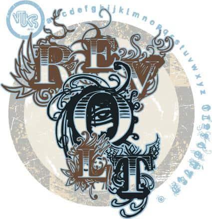Download Vtks Revolt font (typeface)