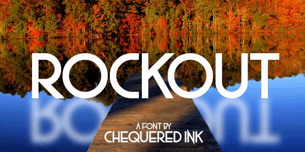 Download Rockout font (typeface)