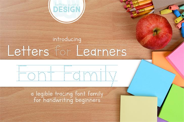 Download Letters for Learners font (typeface)