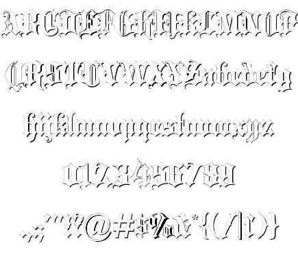 Download Blackletter font (typeface)