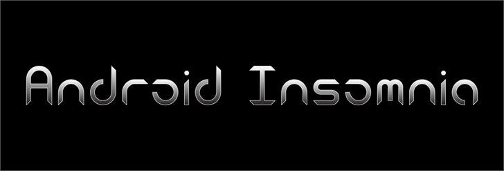 Download Android Insomnia font (typeface)