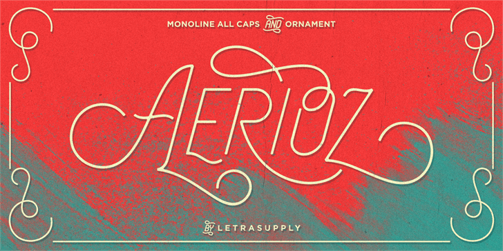 Download Aerioz font (typeface)