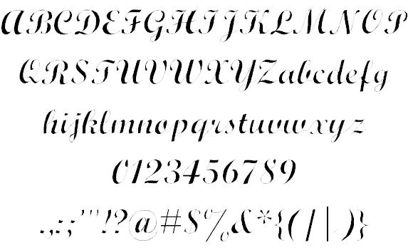 Download Wrexham Script font (typeface)