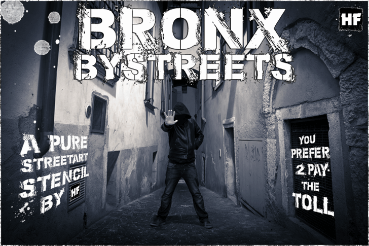 Download Bronx Bystreets font (typeface)