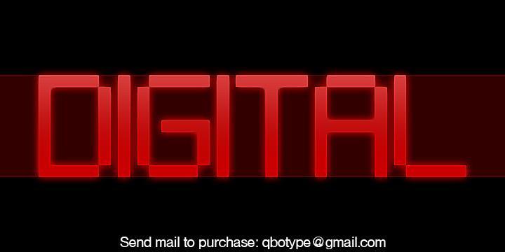 Download Digital tech font (typeface)