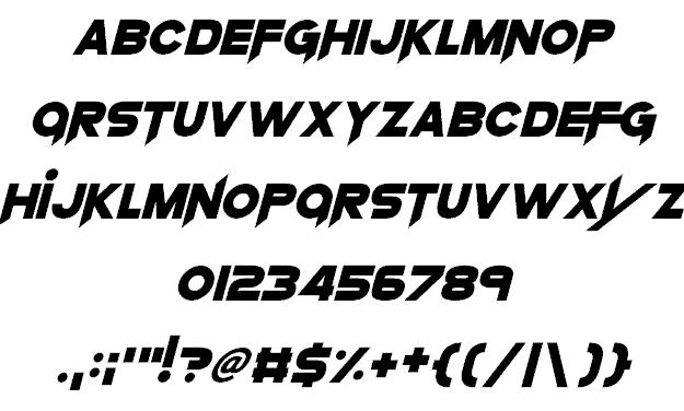 Download Knife Princess font (typeface)