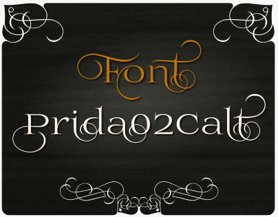 Download Prida02Calt font (typeface)