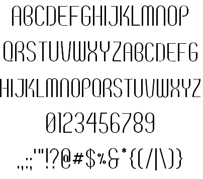 Download Breve SC font (typeface)