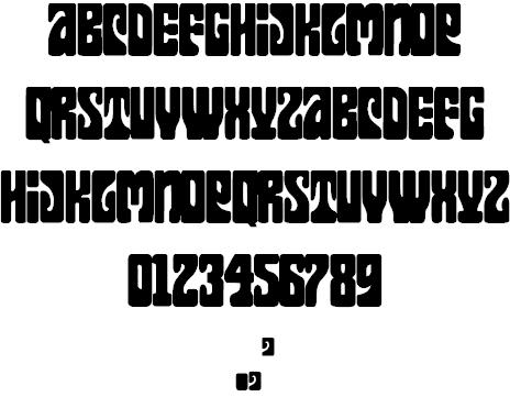 Download Flames font (typeface)