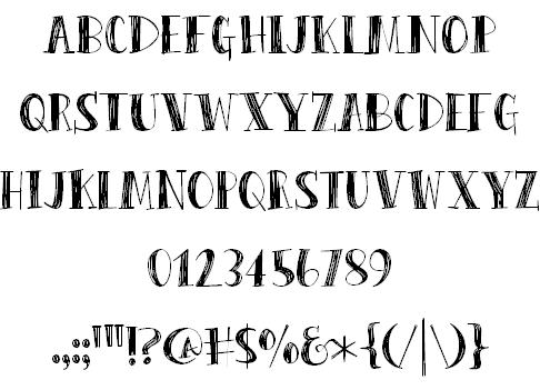 Download Peas & Carrots font (typeface)