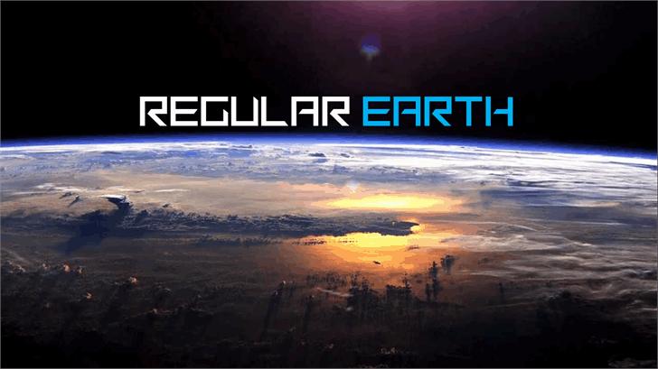 Download Regular Earth font (typeface)