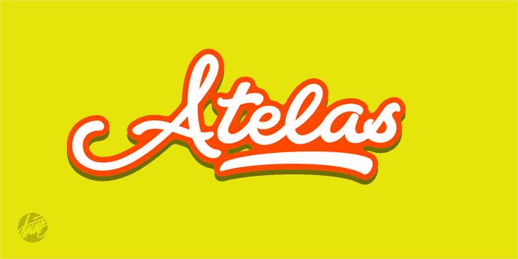 Download Atelas font (typeface)