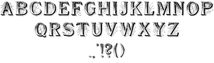 Download Showboat font (typeface)