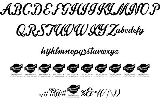 Download Intrique Script font (typeface)